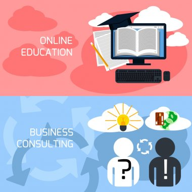 Online education, business consulting