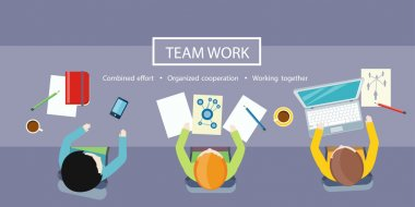 Team Work Concept. Business Meeting
