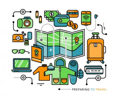 Preparing Travel Necessary Items What to Pack
