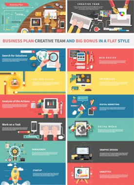 Concept of a Business Plan and Creative Team