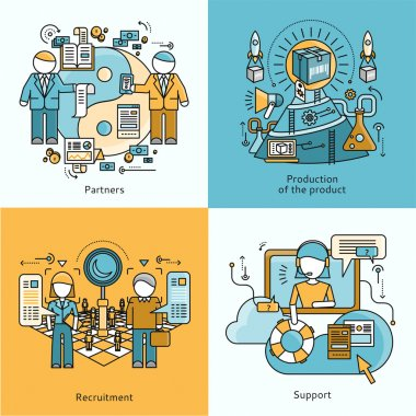 Concept Partnership Recruitment Production Support