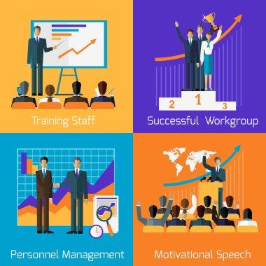 Business Training. Success Motivational Managment