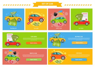 Concept of Buying Selling Rental Car