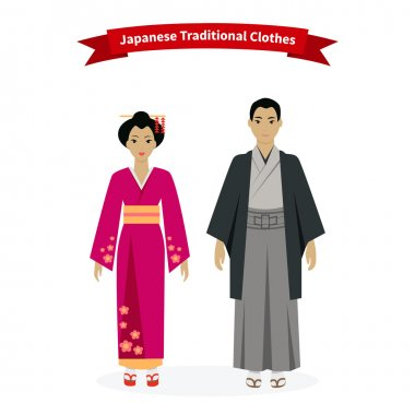 Japanese Traditional Clothes People