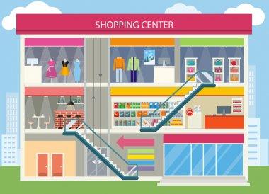 Shopping Center Buiding Design