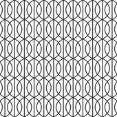 Bezešvé Art Deco síťovou pozadí vzorek textury tapeta