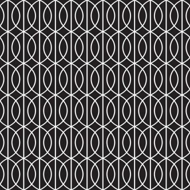 Seamless Art Deco Tracery Background Pattern Texture Wallpaper