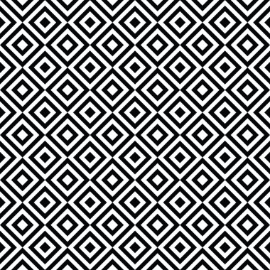 Seamless Black and White Art Deco Background Pattern Texture Wallpaper