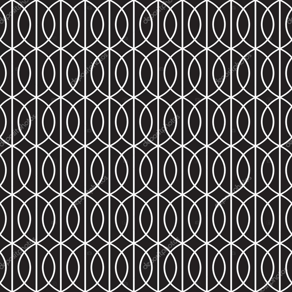 Seamless art deco tracery background pattern texture wallpaper stock vector - Papier peint art nouveau ...