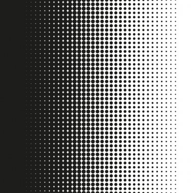 Fine halftone dots pattern gradient in vector format clip art vector