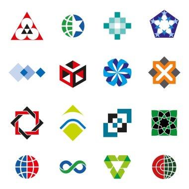 Vector Icons Logo Symbol Set