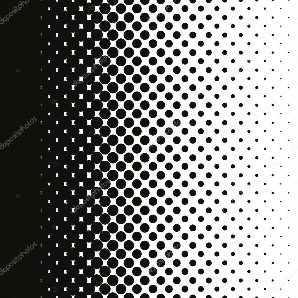 Line Art Vs Halftone : Halftone dots pattern gradient in vector format — stock