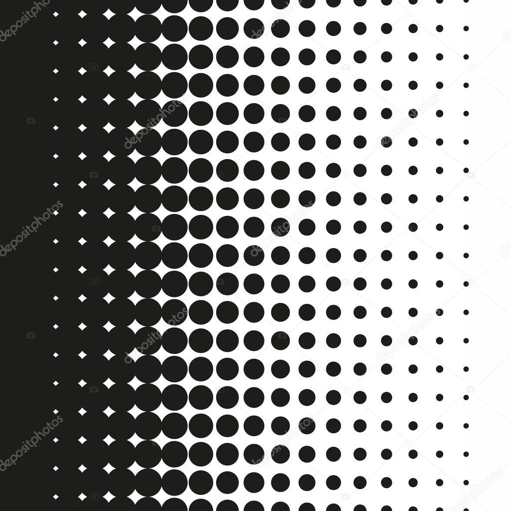Puntos de semitono patrón degradado en formato vectorial — Archivo ...