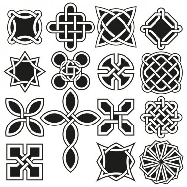 Celtic Knots in Vector Editable Format