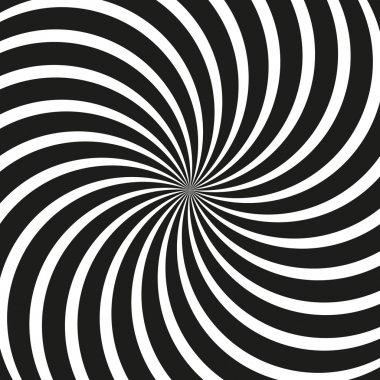Op Art Swirl Background