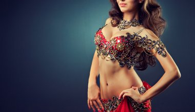Ethnic woman Belly dancer