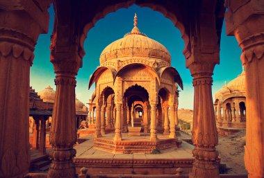 Bada Bagh cenotaph, Jaisalmer