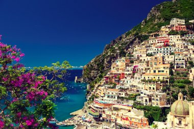 town of Positano, Italy