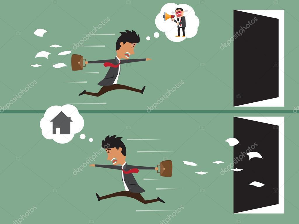 Business lavoro uomo fino tardi con uomo di affari che - Pulizia casa dopo lavori ...