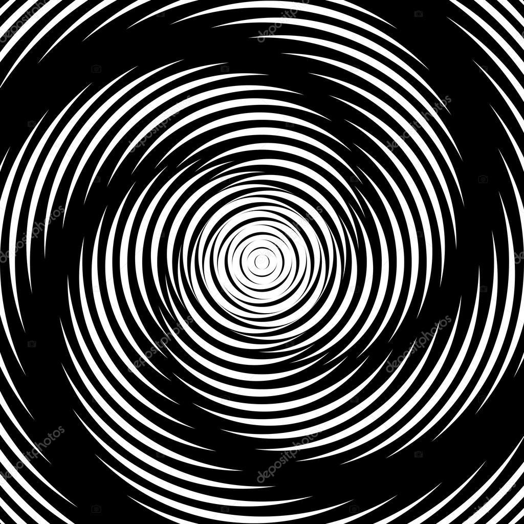 デザイン渦運動錯覚背景 — ストックベクタ