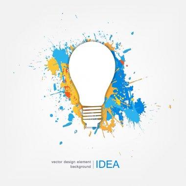 Idea creative concept