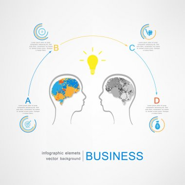 Business success strategy concept