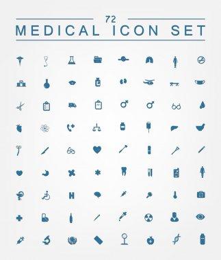 Set of   medical web icons