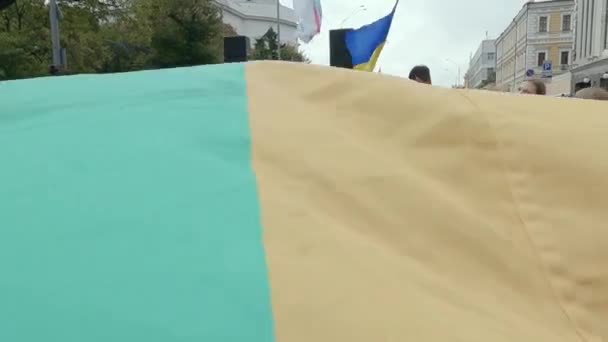 Equality March for the protection of LGBT rights of the Kyiv Pride Community in Kyiv, Ukraine