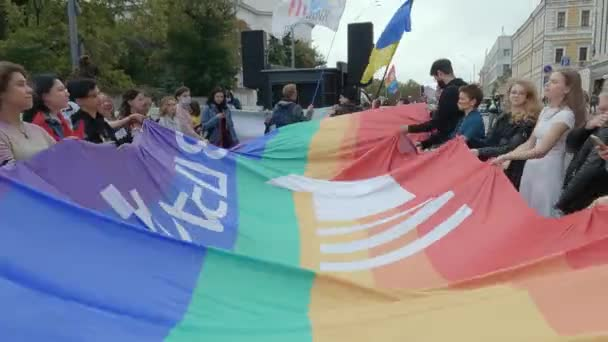 March in support of the rights of the LGBT community in Ukraine - Kyiv Pride