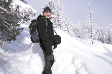 Mountain tourist