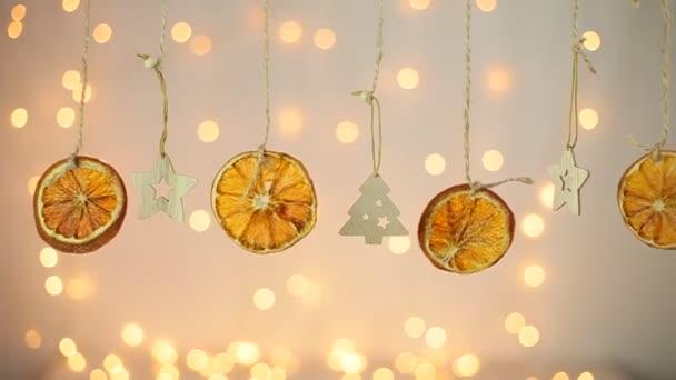 suché pomeranče přesunout vánoční pozadí