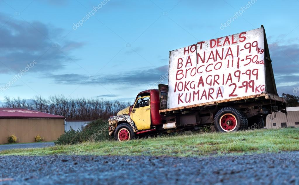 Old Foxton Truck — Stock Photo © rghenry #115552468