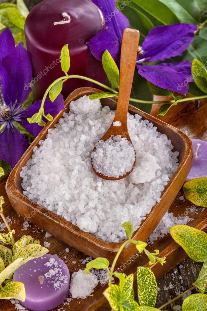 bagno di sale — Foto Stock © ddsign_stock #75874779