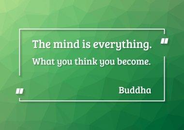 Buddha quote motivation poster