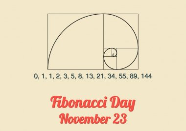 Poster for Fibonacci Day (November 23)