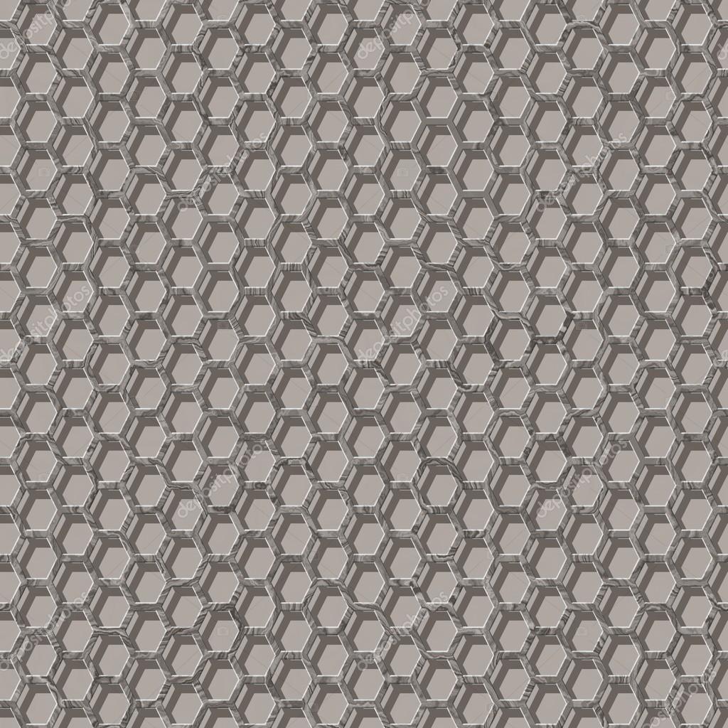 Nahtlose Muster - 3d hexagonal Drahtgeflecht — Stockfoto © Ravennk ...