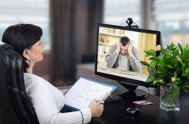 Virtual psychotherapist intends to help to exceedingly desponden