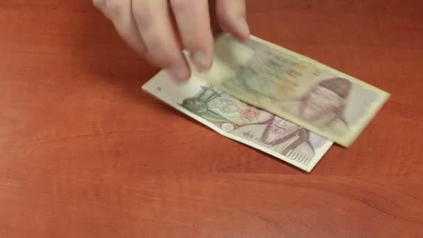 Šíření jihokorejské papírové peníze