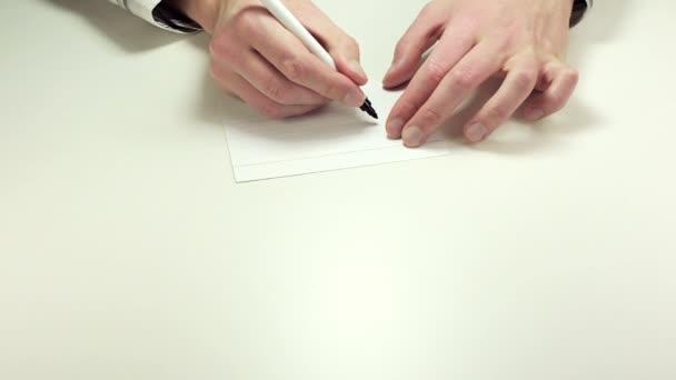 Megjegyzés: papír írás készpénz