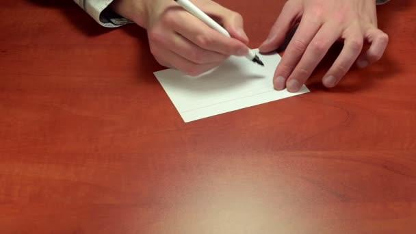Volné psaní na papír