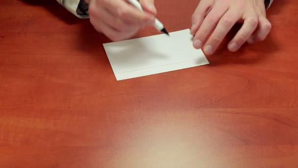 Ano psaní na papír