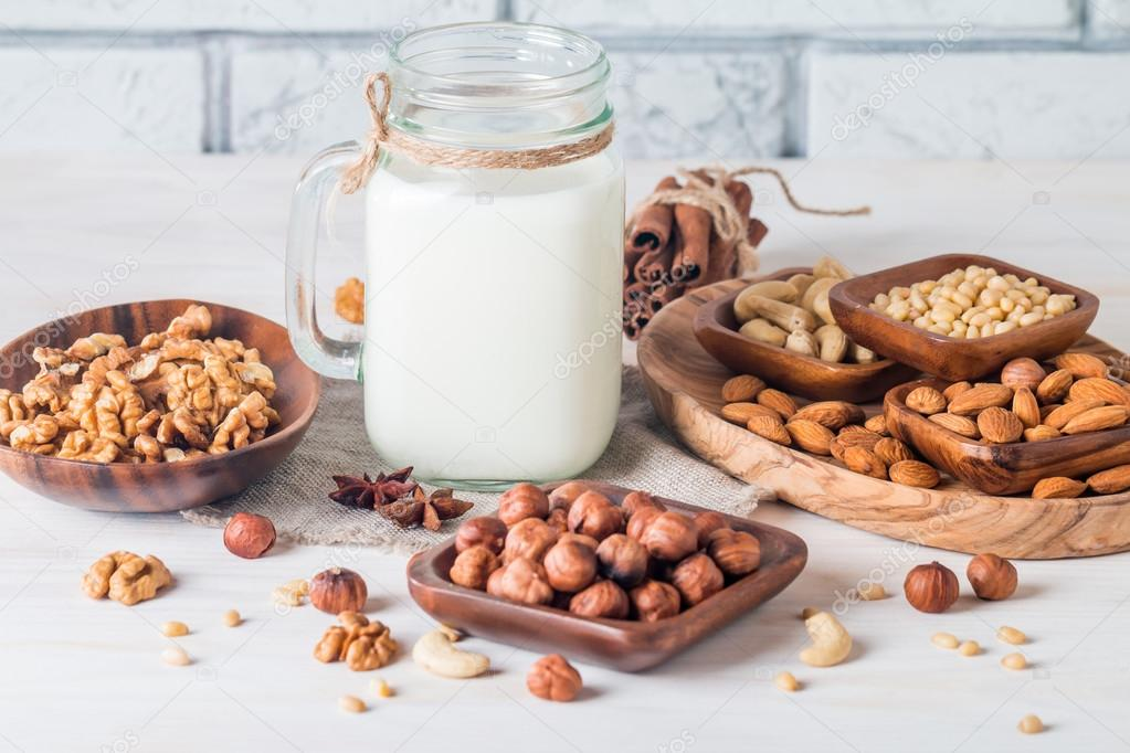 Depositphotos 98646144 stock photo vegan milk from nuts in