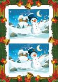Fotografie Weihnachten-Übung - Suche Unterschiede