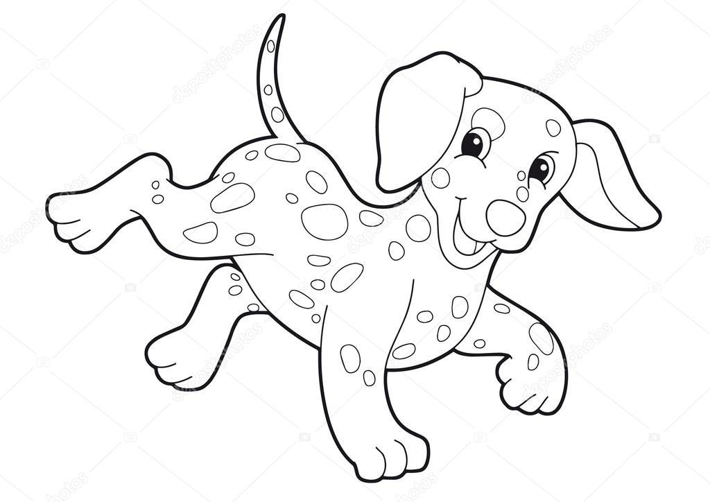 perro - Página para colorear — Foto de stock © agaes8080 #52559941