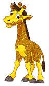 Fotografia giraffa cartoon