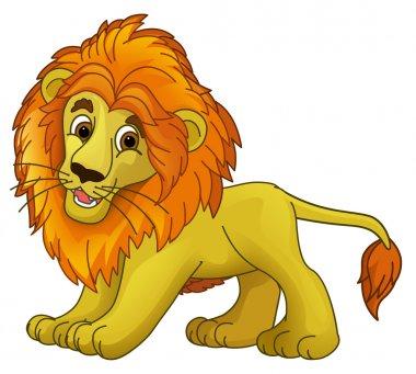 Cartoon animal - lion