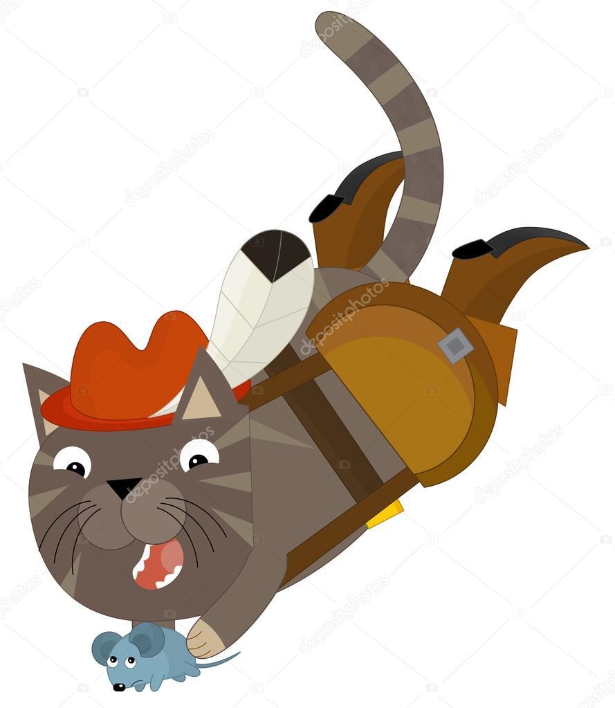 Dessin anim de chat chat bott photographie agaes8080 70055169 - Dessin chat botte ...