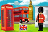 Cartoon-Szene - London
