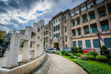 Buildings at the University of Santo Tomas, in Sampaloc, Manila,