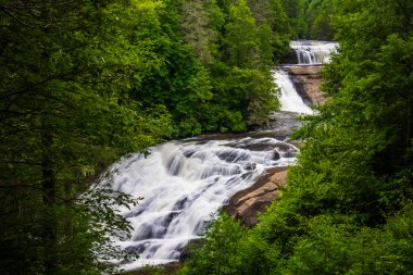 View of Triple Falls, in Dupont State Forest, North Carolina.